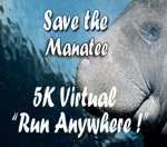 2017 Save the Manatee Virtual 5K Run/2 Mile Walk