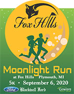 2020 Moonlight Run at Fox Hills